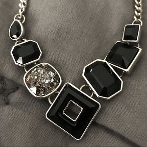 Raven necklace by Touchstone crystal